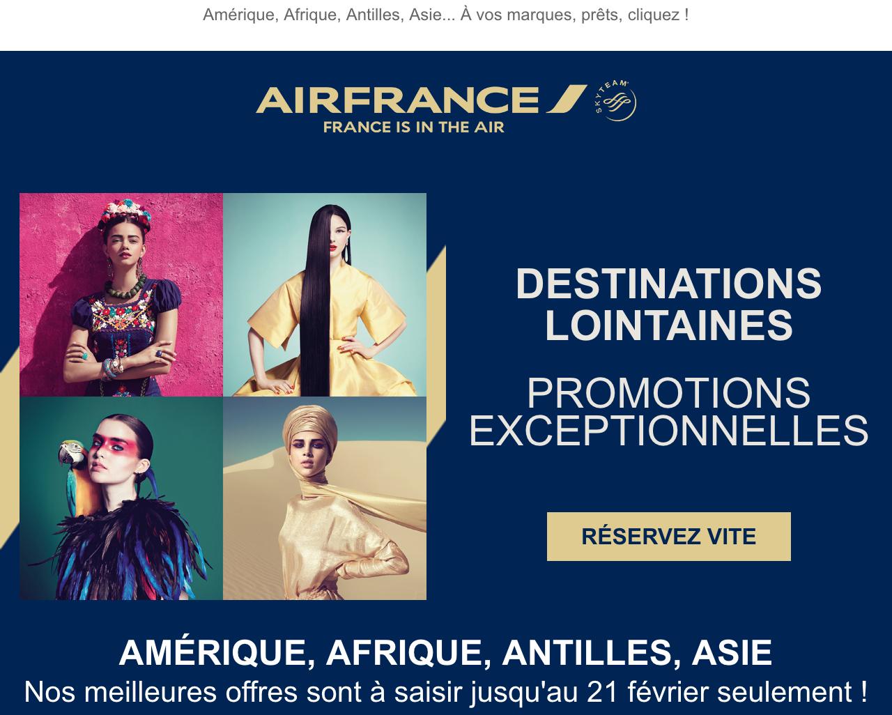 Newsletter Air France