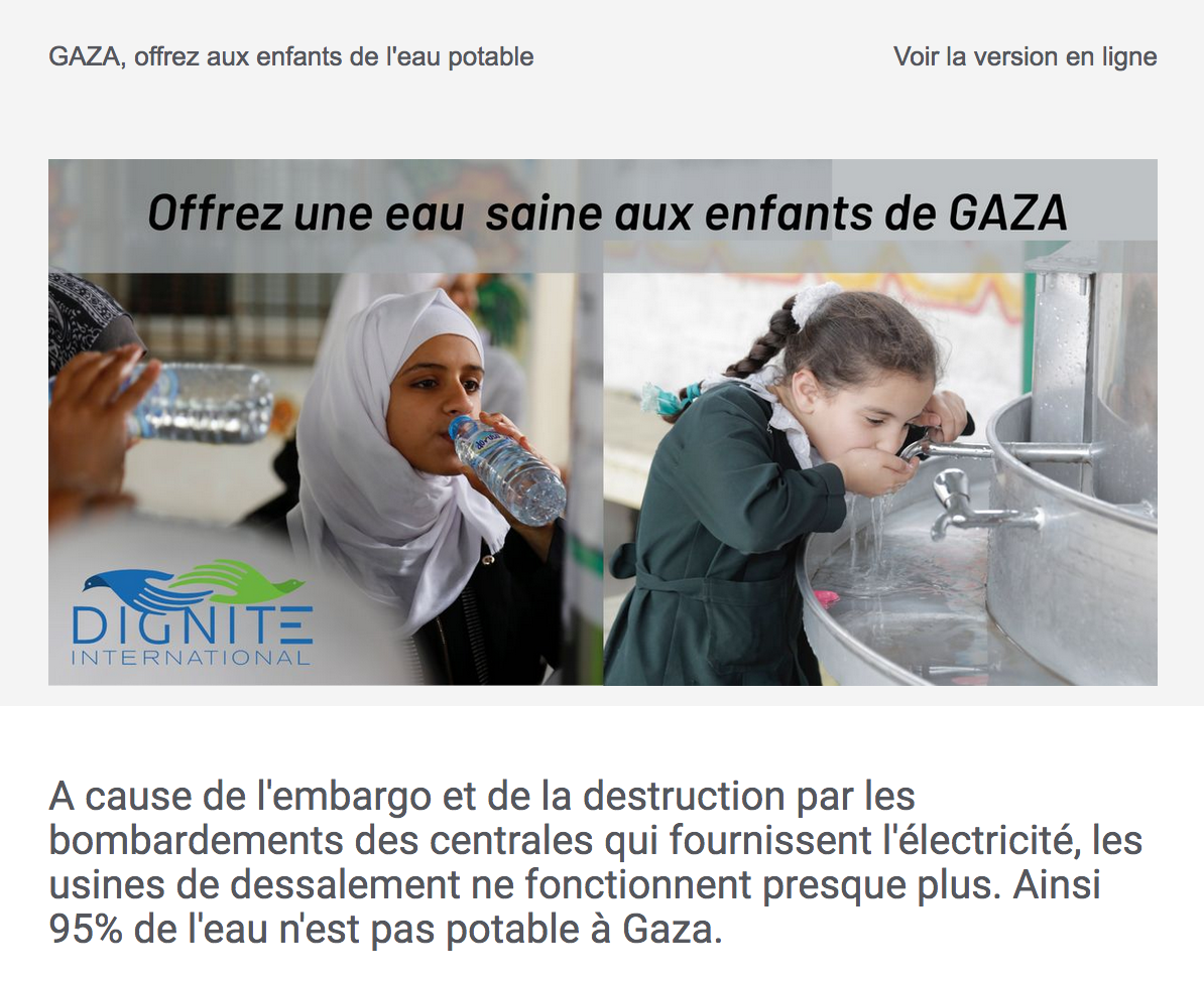Newsletter Dignité International