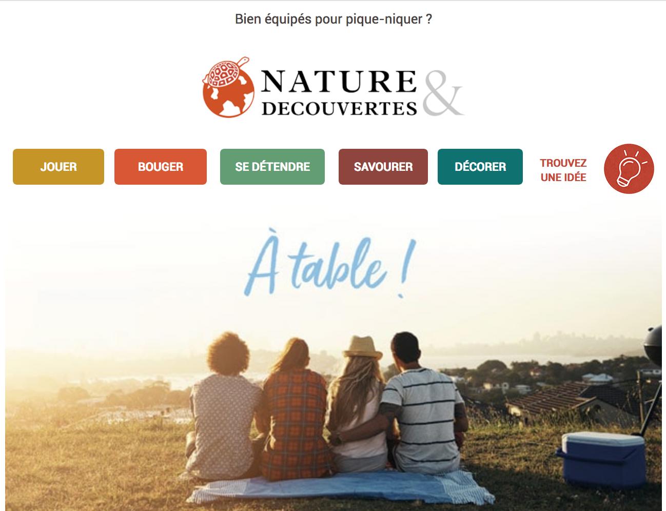 Newsletter Nature & Découvertes
