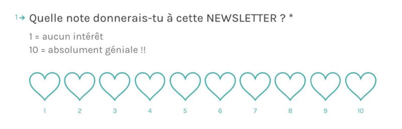 Sondage de satisfaction de la newsletter Les Nouveaux Travailleurs